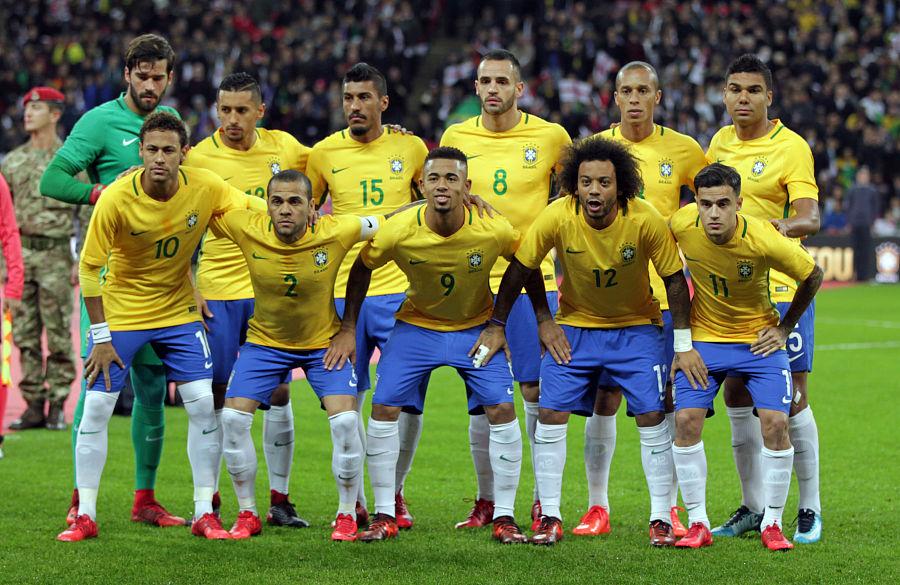 Brasilien VM 2018 trøje