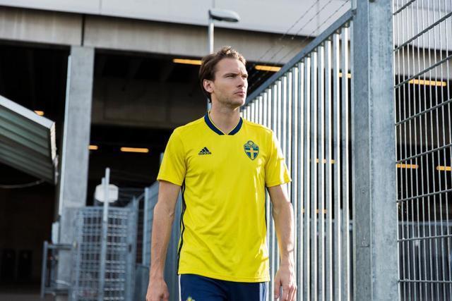 Sverige VM trøje 2018
